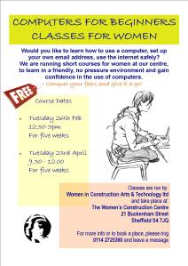 computer classes leaflet