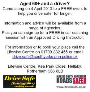 Drive Safe - 4 April 2013