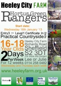 New courses at Heeley City Farm 2, February 2013