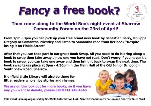 World book night poster